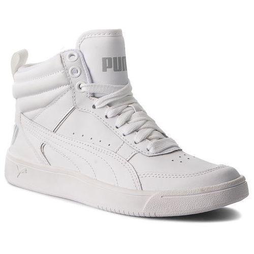 Sneakersy PUMA - Rebound Street V2 L Jr 363913 02 Puma White/Puma White, kolor biały