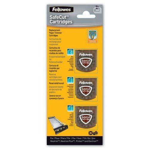Fellowes Wymienne kasety safecut do trymerów , 3 ostrza różne, 5411301 - autoryzowana dystrybucja - szybka dostawa - tel.(34)366-72-72 - sklep@solokolos.pl