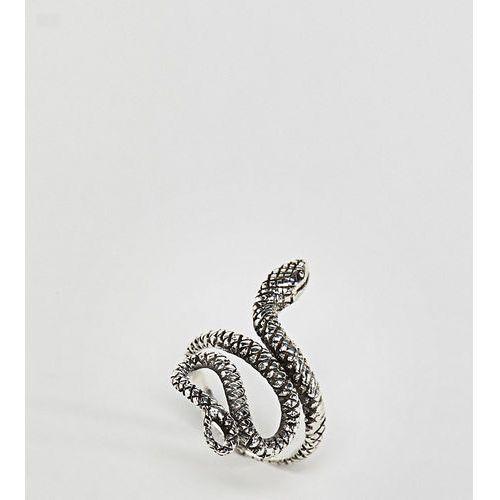 Kingsley ryan sterling silver snake ring - silver