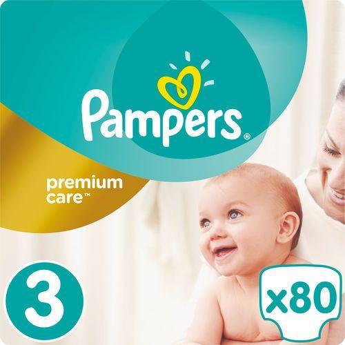 Pampers premium care 3 midi 80 szt. (4-9 kg) jumbo pack- pieluszki jednorazowe. Najniższe ceny, najlepsze promocje w sklepach, opinie.
