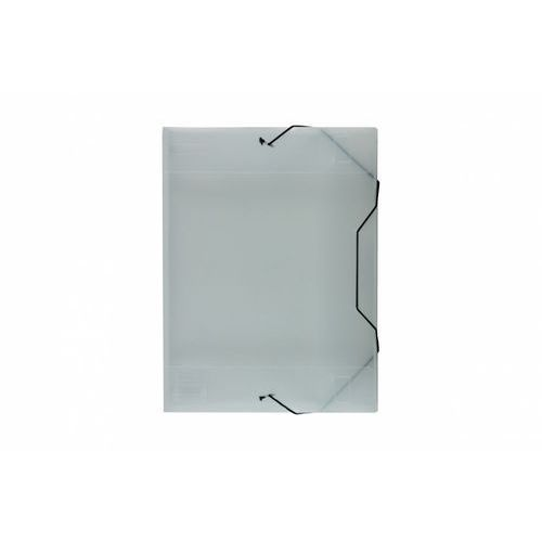 Teczka skrzydłowa z gumką Biurfol TG-13-05 transparentna