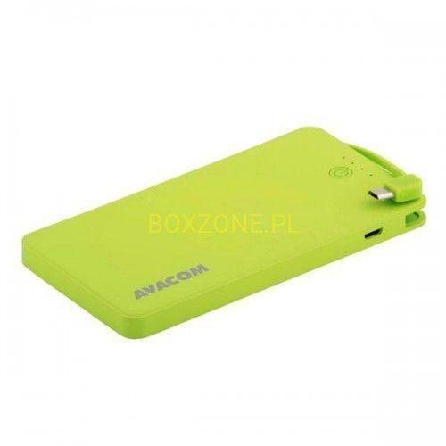Powerbank Avacom PWRB-4000G zielony Darmowy odbiór w 21 miastach! (8591849067610)