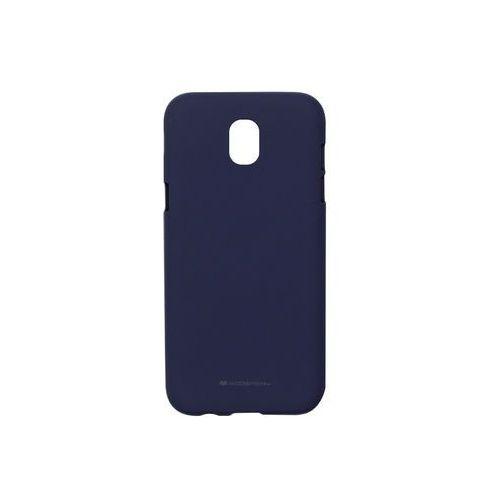 Samsung Galaxy J5 (2017) - etui na telefon Mercury Goospery Soft Feeling - granatowy, kolor niebieski