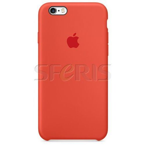 Apple MKY62BZ/A Silicone Case for iPhone 6s orange