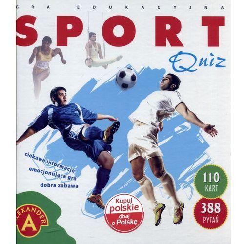 Gra ALEXANDER Quiz sport duży (5906018017274)