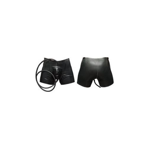 Piss drainer shorts with tube, Rozmiar - M