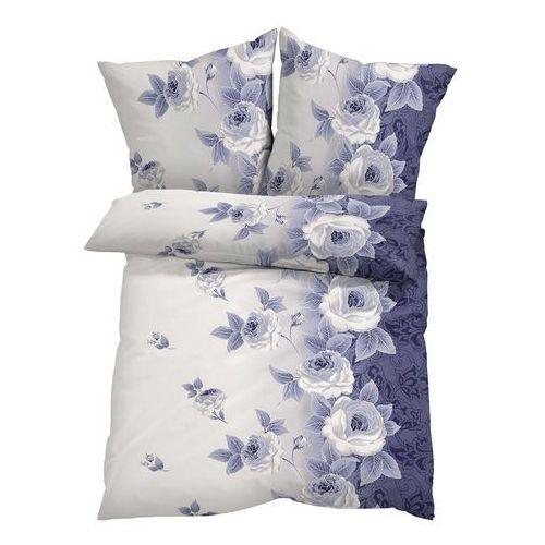 """Pościel """"Romy"""" bonprix niebieski indygo, kolor fioletowy"""
