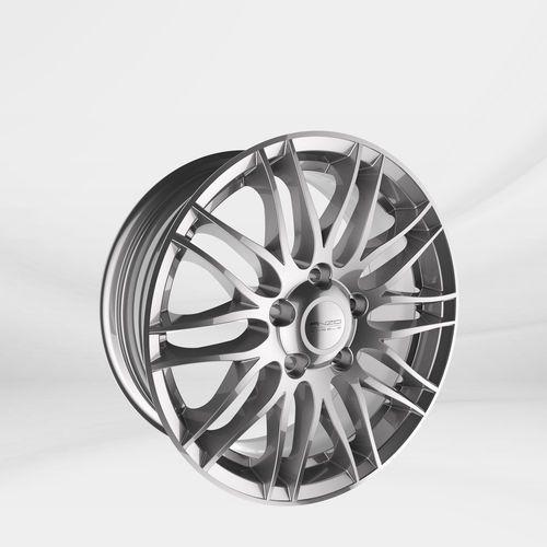 "Anzio Felgi aluminiowe 17"" 5x112 challenge sterling - srebrny"