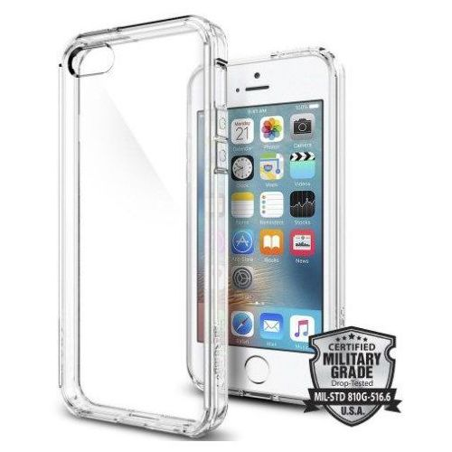 Sgp - spigen Obudowa spigen sgp ultra hybrid crystal clear dla apple iphone 5 / 5s / se - crystal clear (8809353619394)