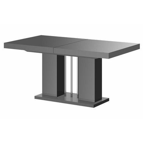 Stół rozkładany LINOSA 160-260 cm szary połysk, HS-0227