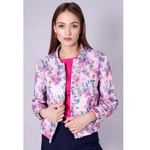 Kurtka damska model amelia 5159 pink, Click fashion