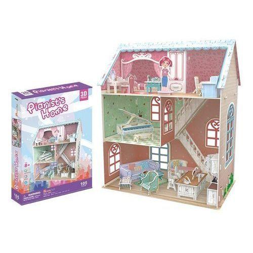 Cubicfun Puzzle 3d domek dla lalek pianist (6944588206840)