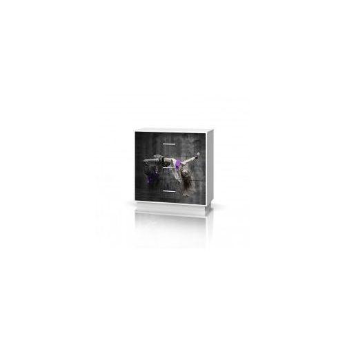 Komoda szeroka 3 szuflady MIX HIP HOP VIOLET, 20150119091052_20170509103656