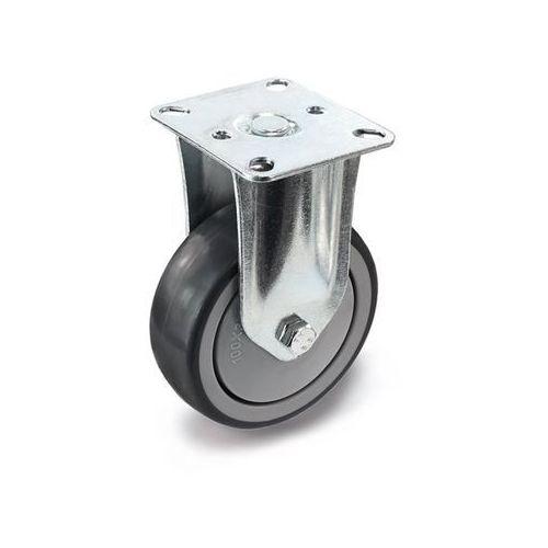 Proroll Ogumienie, termoplastyczne, z płytką montażową, Ø x szer. kółka 100x32 mm, rolka