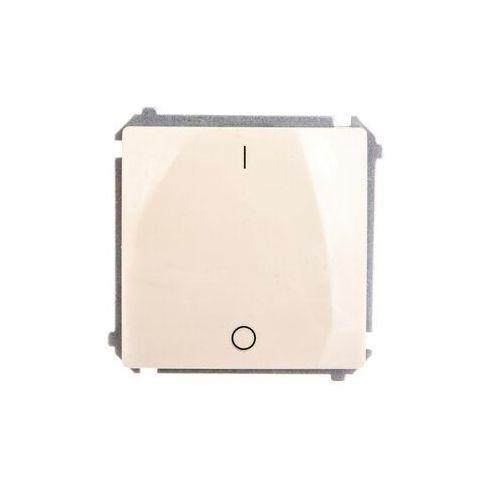 Kontakt - simon s.a. Kontakt simon basic - łącznik dwubiegunowy beżowy bmw2.01/12 (5902787570576)