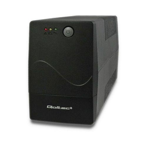 Qoltec Zasilacz awaryjny UPS MONOLITH   850VA   480W, 1_617774