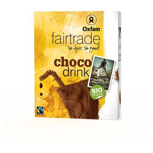 Oxfam Czekolada do picia bio fair trade 375g (5400164140065)