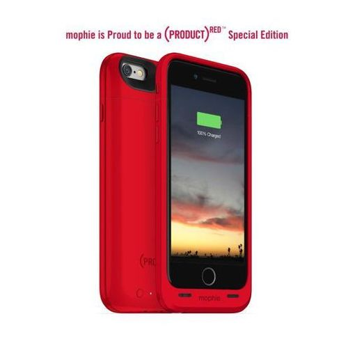 Mophie  juice pack air iphone 6/6s (czerwony) (0810472030463)