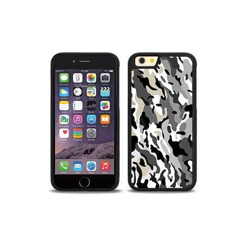Apple iPhone 6s - etui na telefon Aluminum Fantastic - szare moro, kolor szary