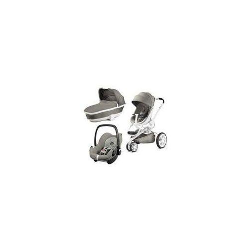 W�zek wielofunkcyjny 3w1 moodd + pebble gratis (grey gravel) marki Quinny