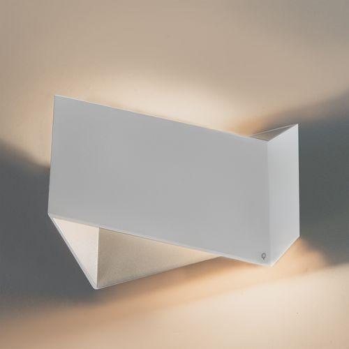 Qazqa Designerski kinkiet biały - fold