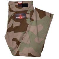 Divest spodnie bojówki moro piaskowe model 278 120/34 moro piaskowe bawełna / lycra