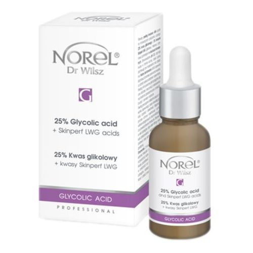 Norel (dr wilsz) 25% glycolic acid + skinperf lwg acid 25% kwas glikolowy + kwasy skinperf lwg (pp119)