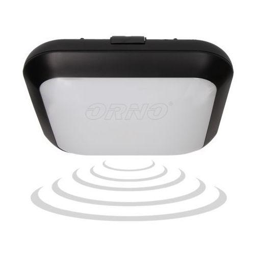 Plafon MONSUN LED z czujnikiem ruchu, czarny, 15W, ORNO, OR-PL-6047BLPMM4 - sprawdź w wybranym sklepie