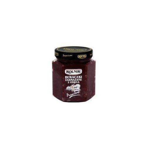Buraczki zasmażane z cebulką premium 540 g Rolnik, kup u jednego z partnerów