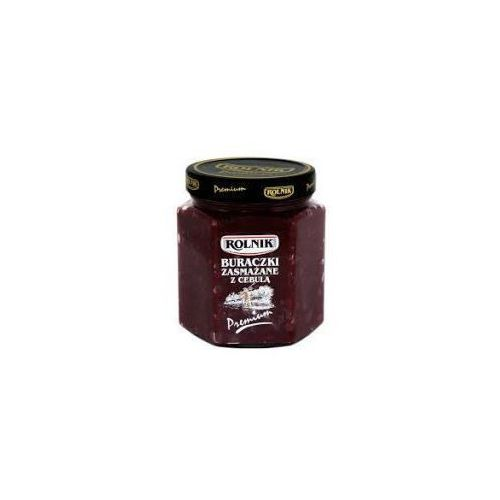 Buraczki zasmażane z cebulką premium 540 g Rolnik