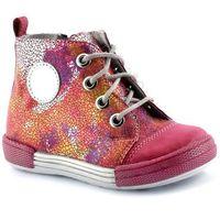 Trzewiki dziecięce 4871 - różowy ||kolorowy marki Kornecki