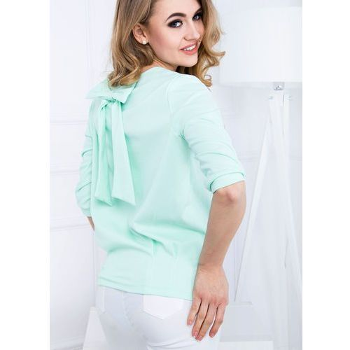 Damska bluzka z kokardą na plecach xl+, Zoio