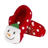 Soxo Kapcie świąteczne 3d rozmiar: 40-41, kolor: czerwony, soxo