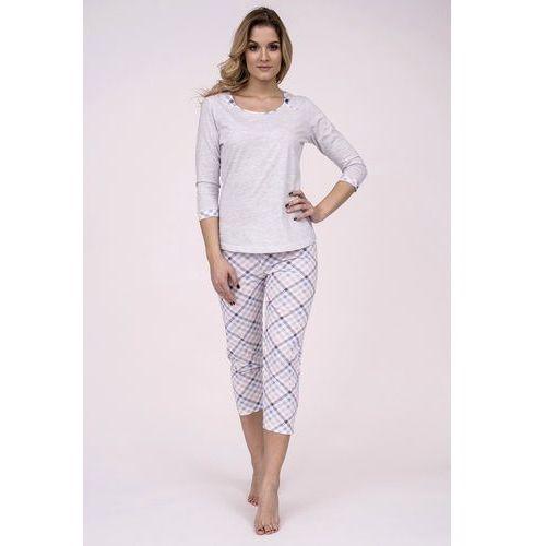 Piżama Cana 190 3/4 S-XL XL, szary-różowy jasny. Cana, L, M, XL, 1 rozmiar