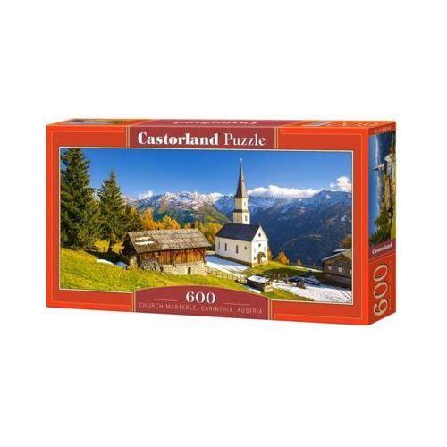 Castor 600 elementów, kościół marterle, karyntia, austria