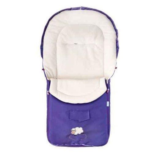 Sensillo  śpiworek do wózka z polaru 95x40 cm, purple