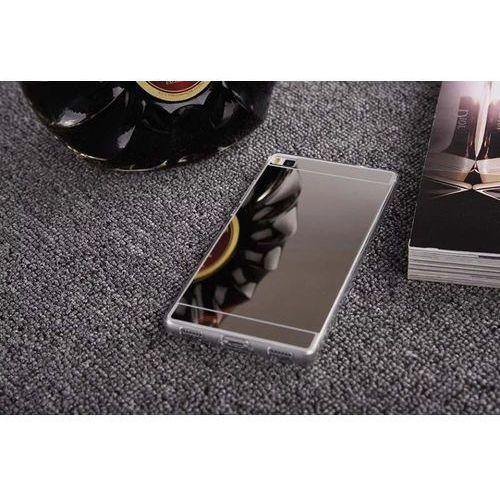 Slim Mirror Case Srebrny   Etui dla Huawei P8 - Srebrny z kategorii Futerały i pokrowce do telefonów