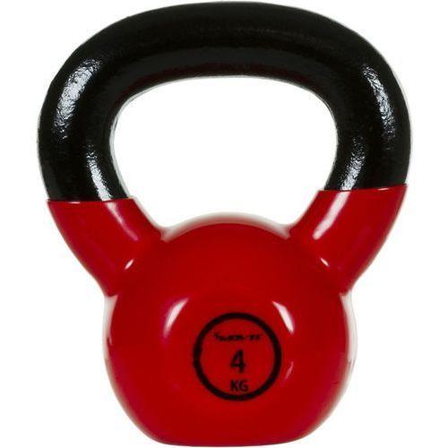 Movit ® Movit® hantla żeliwna kula kettlebell ketla 4kg - 4 kg (20040452)