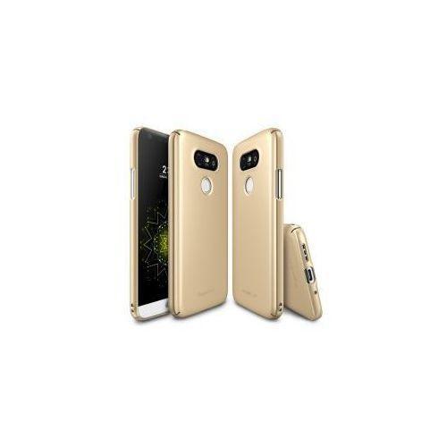 ETUI FUETAŁ RINGKE SLIM LG G5 - Złoty (Futerał telefoniczny)