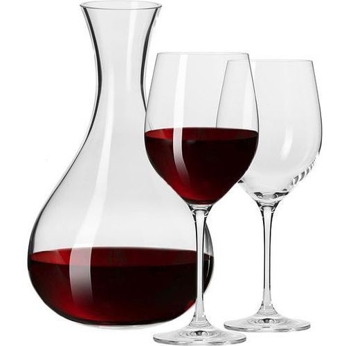 Karafka i kieliszki do wina Harmony 3 el. (5900345790411)