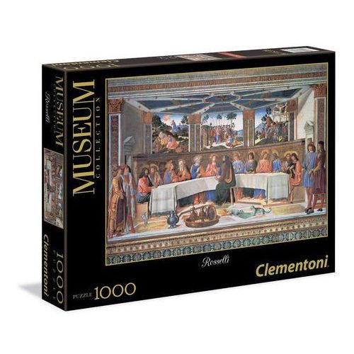 , puzzle museum collection rosselli the last supper marki Clementoni