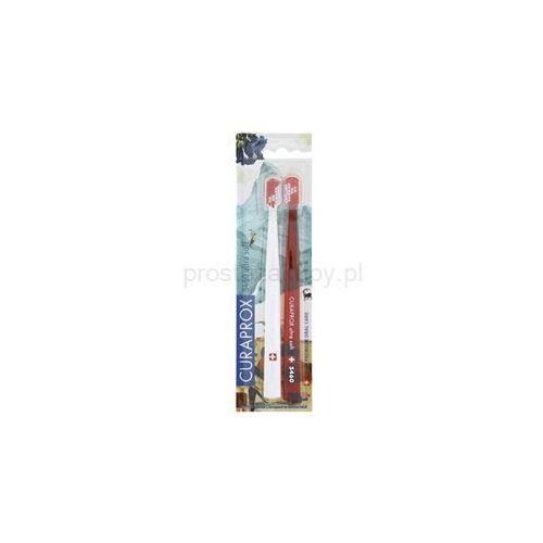 Curaprox 5460 Ultra Soft Swiss Edition - Zermatt szczoteczki do zębów 2 szt. + do każdego zamówienia upominek.
