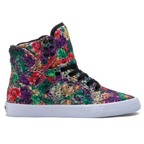 buty SUPRA - Skytop High Floral-White (FLO)