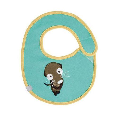 Lassig - Śliniak bawełniany wodoodporny Wildlife Surykatka (4042183364254)