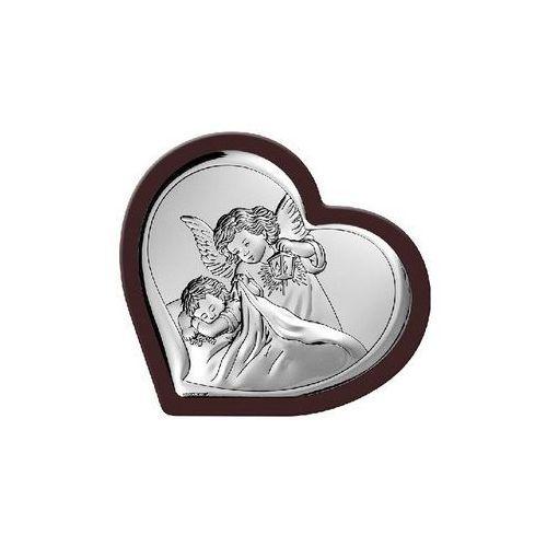 Obrazek anioł stróż w ciemnej oprawie- (bc#6448wm) marki Beltrami