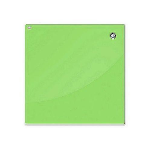 Tablica szklana magnetyczna suchościeralna 45x45cm jasna zieleń tsz4545 g marki 2x3