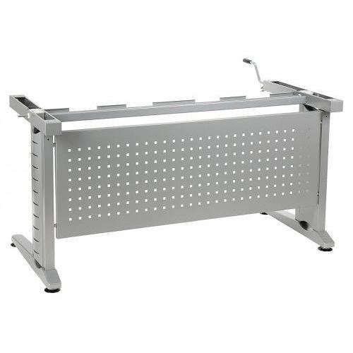 Stelaż biurka regulowany na wysokość za pomocą korbki - CK-UD