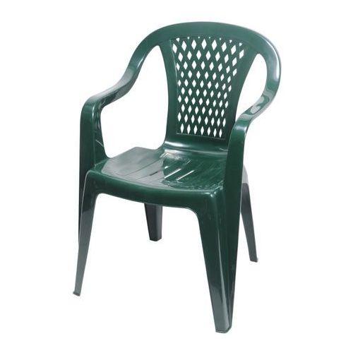 Obi Krzesło ogrodowe diament zieleń leśna