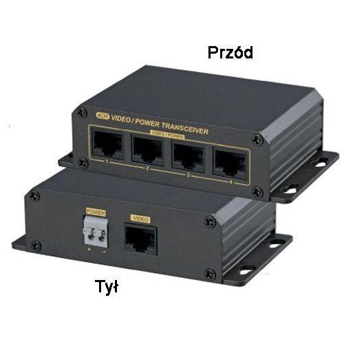 15-u414vpd pasywne złącze do transmisji sygnału wideo po skrętce z zasilaniem marki Import