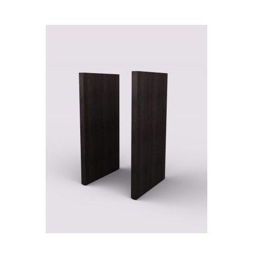 Boczna płyta wykończeniowa, para, 427 x 38 x 774 mm, wenge